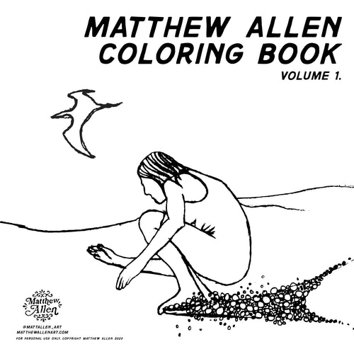 Matthew Allen Coloring Book Vol. 1