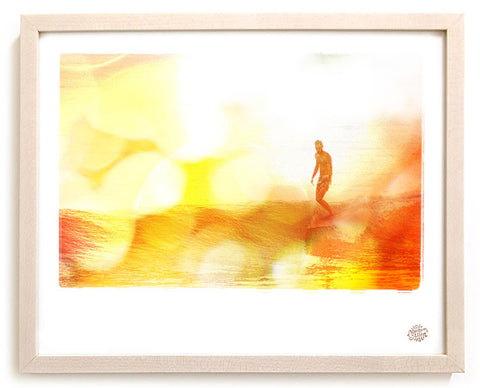 "Limited Edition Surf Photo Print ""Middles"" - Borrowed Light Series"