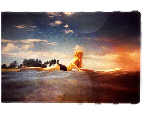 "Limited Edition Surf Photo Print ""Anticipation"" - Borrowed Light Series"