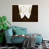 "Limited Edition Beach Art Print ""Our Plumb Line"" Surreal Surf Series"