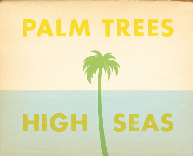 Palm Trees and High Seas Art
