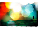 "Limited Edition Surf Photo Print ""Pushin"" - Borrowed Light Series"