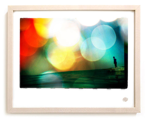 "Surf Photo Print ""Pushin"" - Borrowed Light Series"