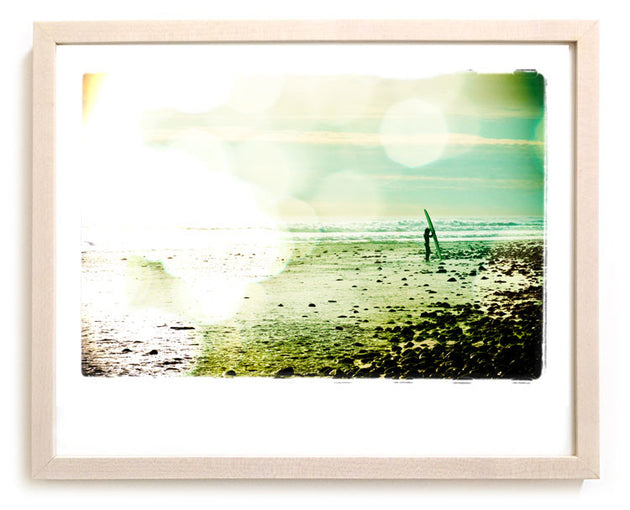 "Limited Edition Surf Photo Print ""Retrieval"" - Borrowed Light Series"