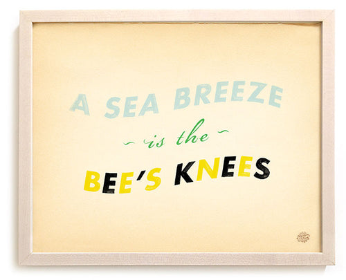 A Sea Breeze  is the Bee's Knees