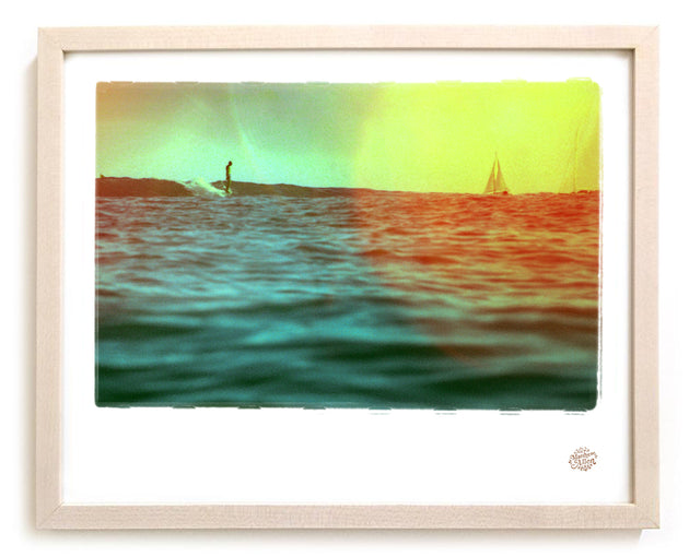"Limited Edition Surf Photo Print ""Set Sail"" - Borrowed Light Series"