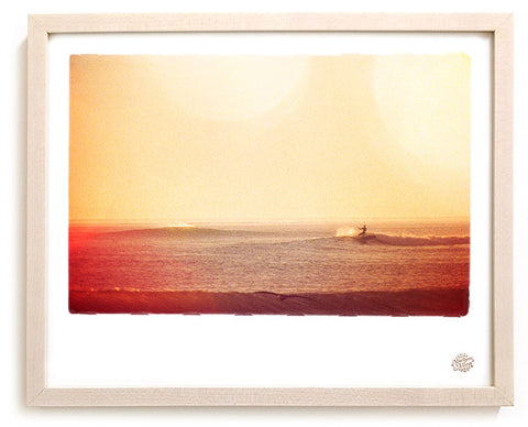"Surf Photo Print ""Solo Church"" - Borrowed Light Series"