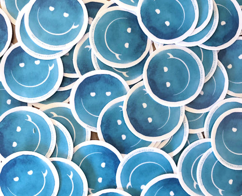 Surf Smile Stickers (5 Pack)