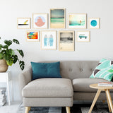 Surfing Gallery Wall