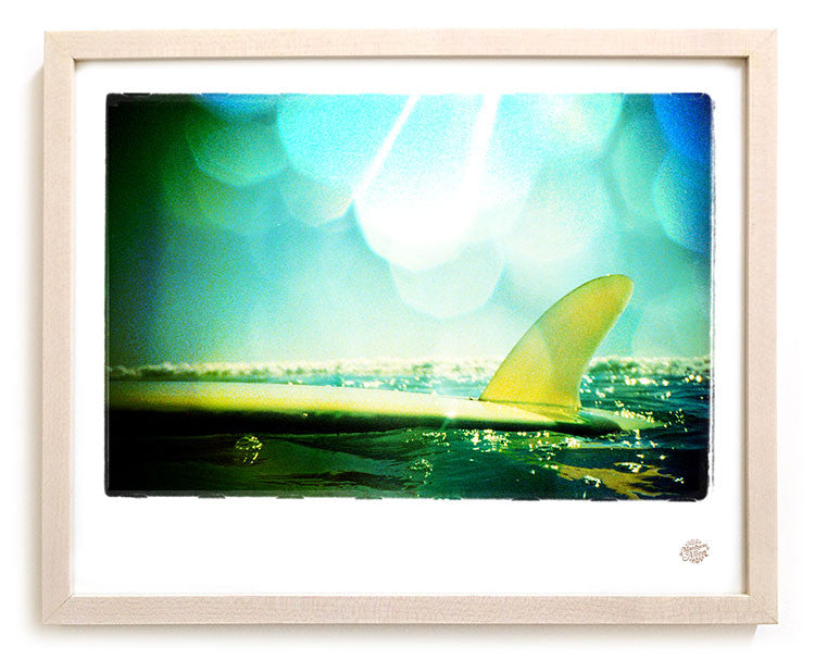"Limited Edition Surf Photo Print ""The Shallows"" - Borrowed Light Series"