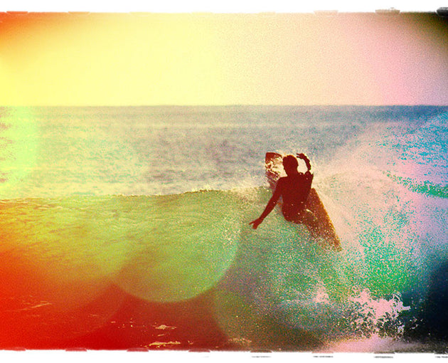 "Limited Edition Surf Photo Print ""Tick"" - Borrowed Light Series"