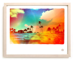 "Surf Photo Print ""Tropics"" - Borrowed Light Series"