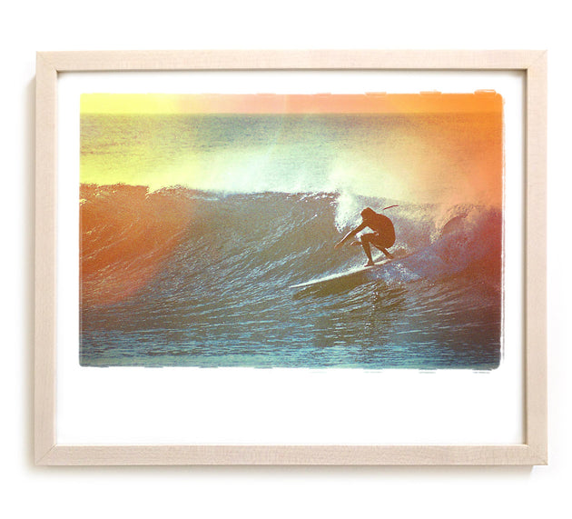 "Limited Edition Surf Photo Print ""Tuck"" - Borrowed Light Series"