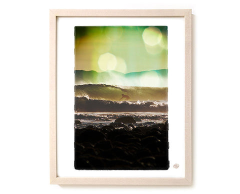 "Limited Edition Surf Photo Print ""Twilight"" - Borrowed Light Series"