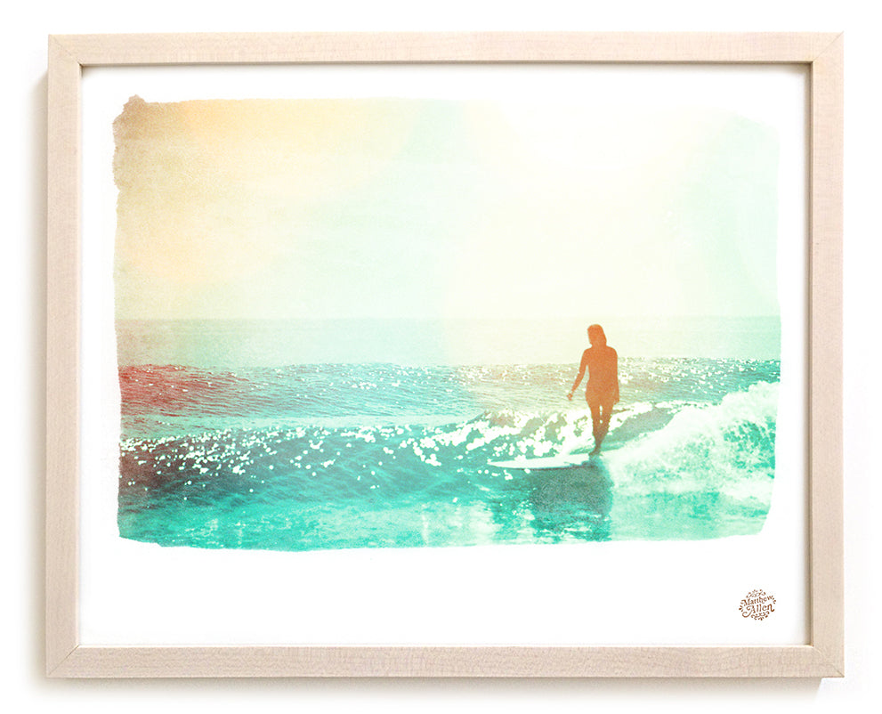"Limited Edition Surf Photo Print ""Wash"""
