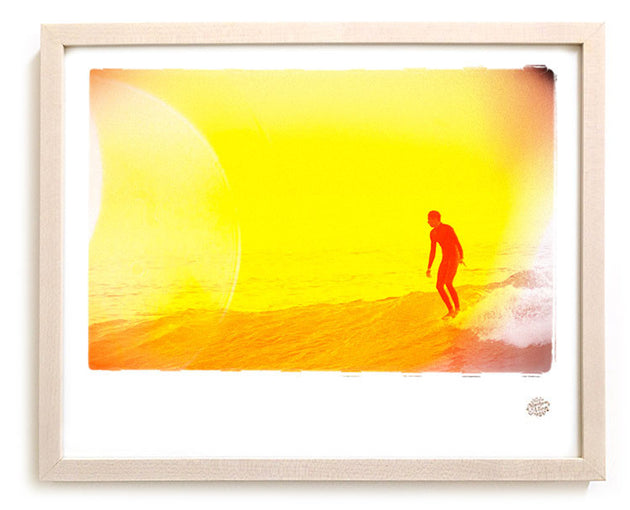 "Surf Photo Print ""Yellow"" - Borrowed Light Series"