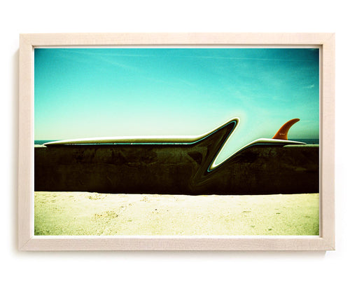 "Limited Edition Beach Art Print ""Zag"" Surreal Surf Series"