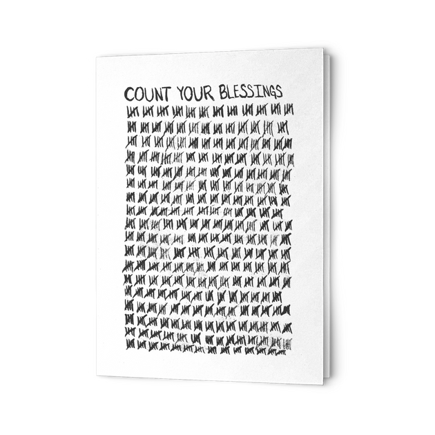 Blessings 5x7 Greeting Card