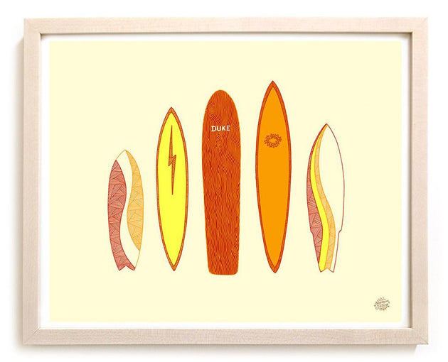 "Limited Edition Surfing Art ""Icons"""