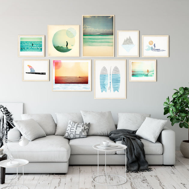 Beach House Large Gallery Wall