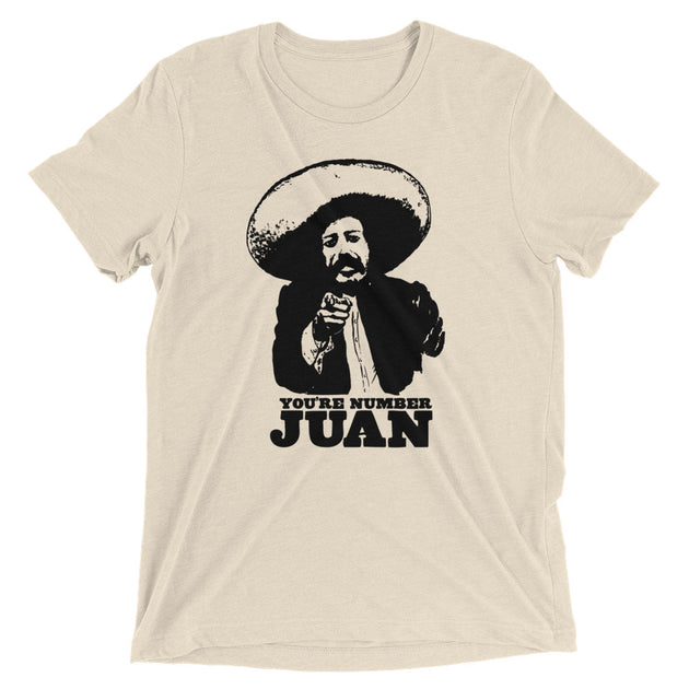 Number Juan Men's Funny T-Shirt