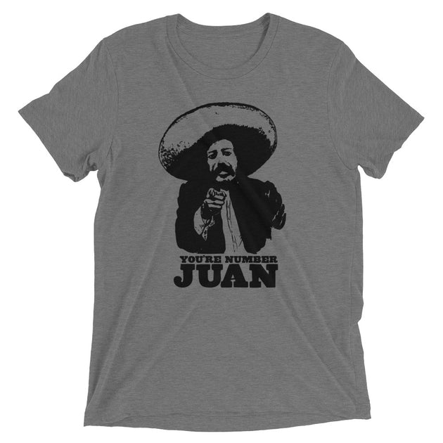 Number Juan Funny Men's T-Shirt