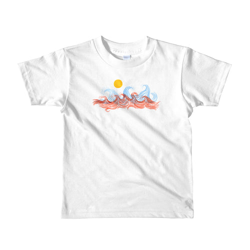 In The Wilderness Kids Surf T-shirt