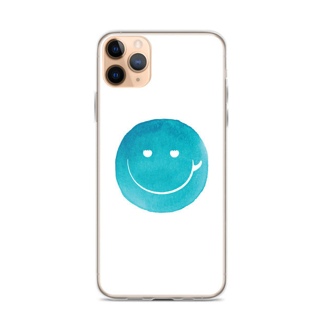 Surf Smile Happy Face iPhone Case