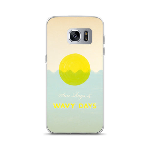 Wavy Days Surf Samsung Case