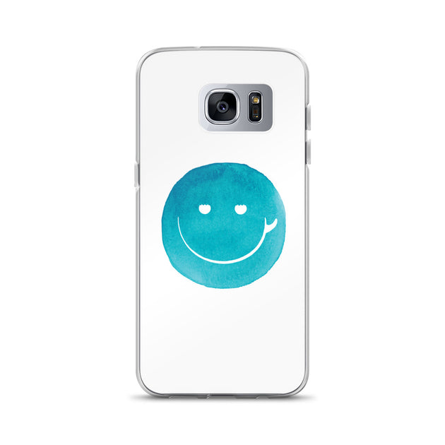 Surf Smile Happy Face Samsung Case