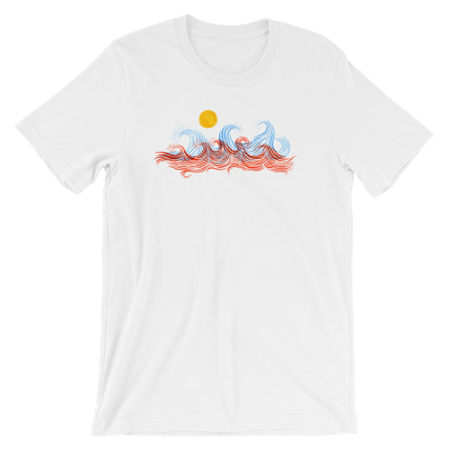 In The Wilderness Men's Surf T-Shirt