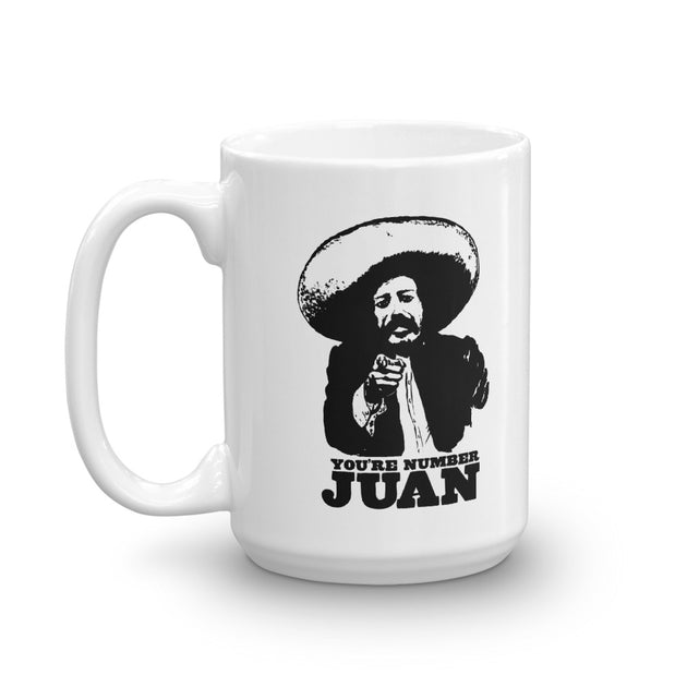 You're Number Juan Mug