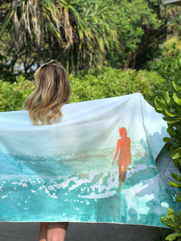 """Wash"" Surfer Towel Collab"