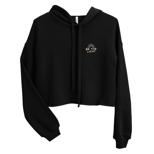 Be The Light Women's Crop Hoodie