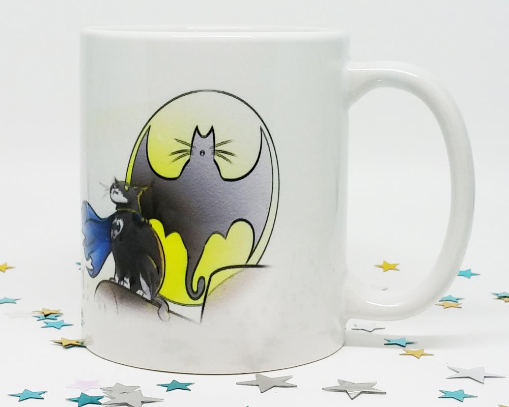 I'm Fucking BatCat Coffee Mug (SLIGHTLY BLEMISHED)