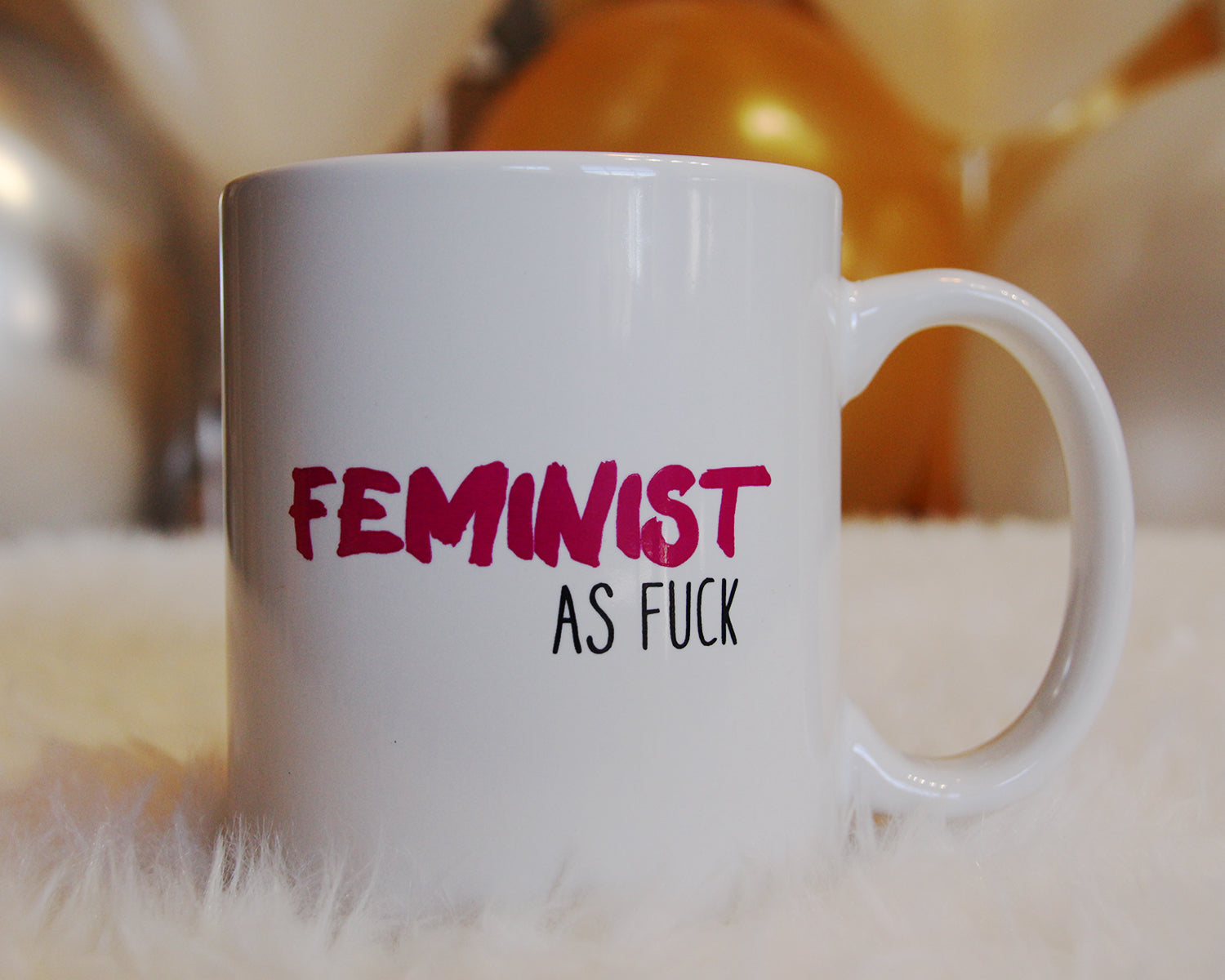 Feminist As Fuck Coffee Mug