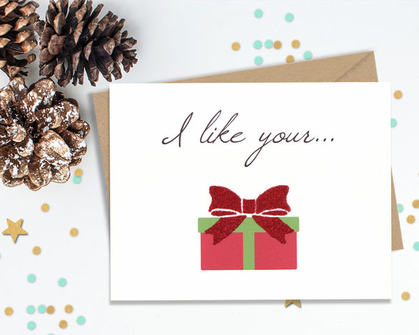 I like your Box - Funny Christmas Cards