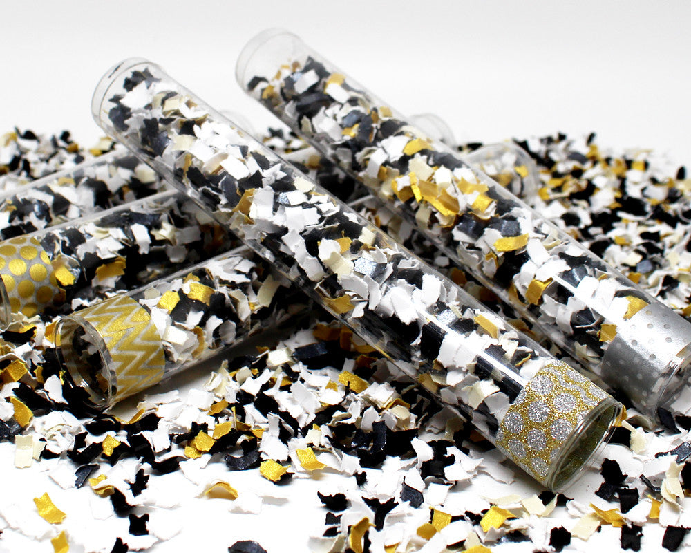 New Years Confetti Poppers- Colorful Paper Confetti