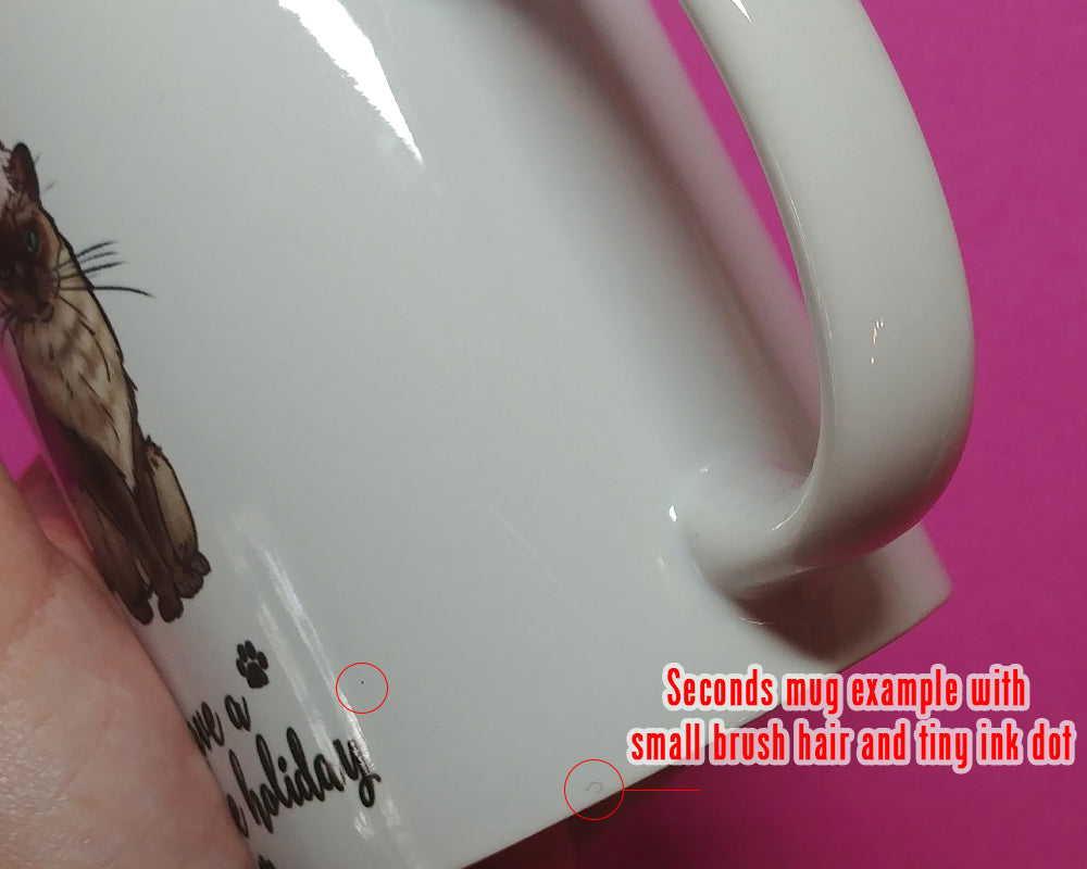 You're Fucking Out of This World Space Unicorn Coffee Mug (SLIGHTLY BLEMISHED)