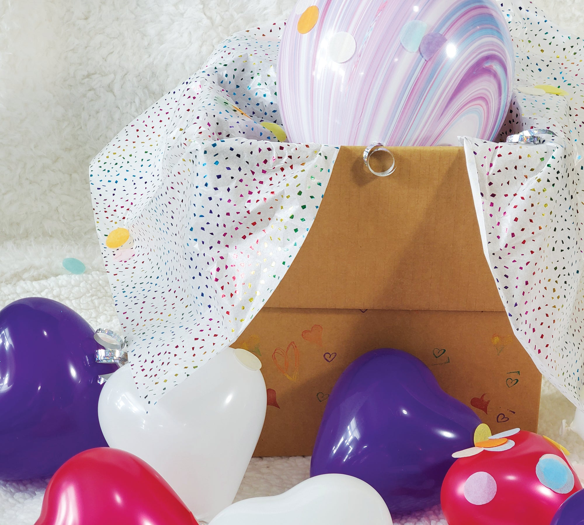 I Heart Surprises! Party In A Box