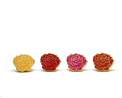 Marigold Enamel Pin Set