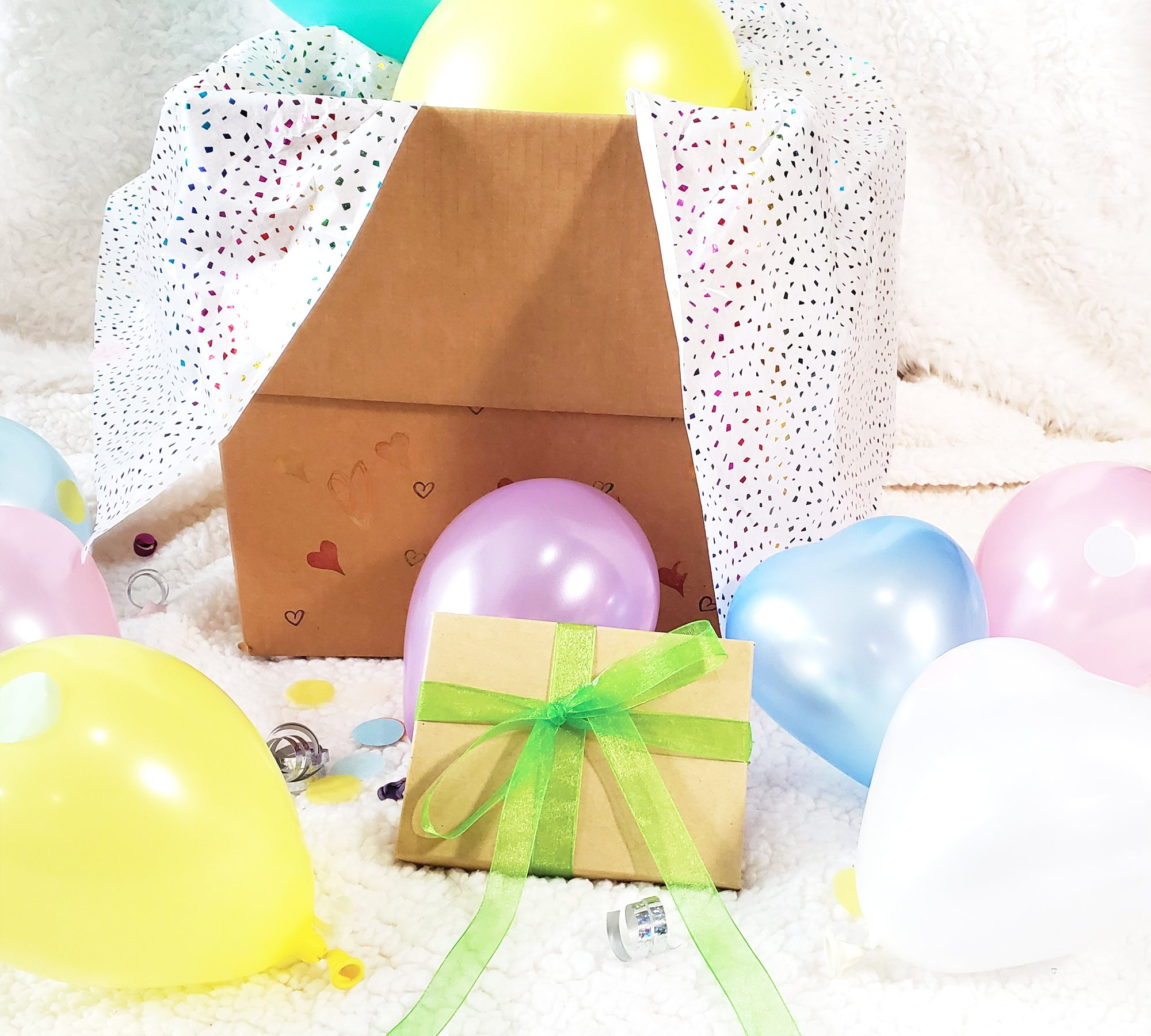 Pastel Rainbow Party In A Box