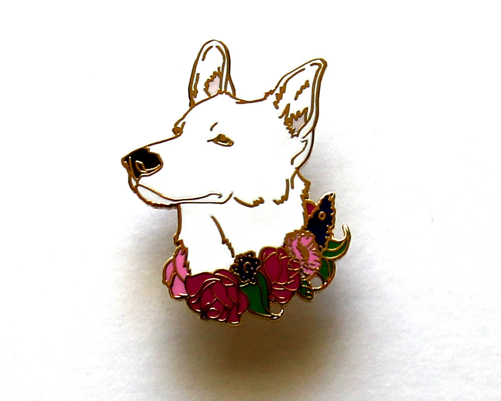 German Shepherd Dog Enamel Pin