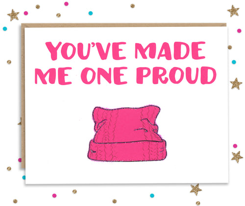One Proud Pussy - Mother and Father's day card