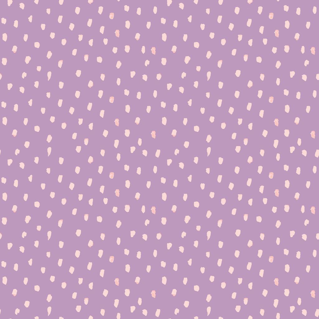 Dots on Purple