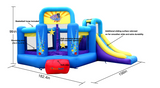 Bounce House - Pop Star Bounce House with Slide
