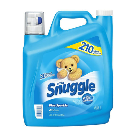 Snuggle Blue Sparkle Fabric Softener 168 oz 210 loads