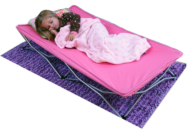 Regalo Pink My Cot Portable Travel Bed Kid Child Compact Camping