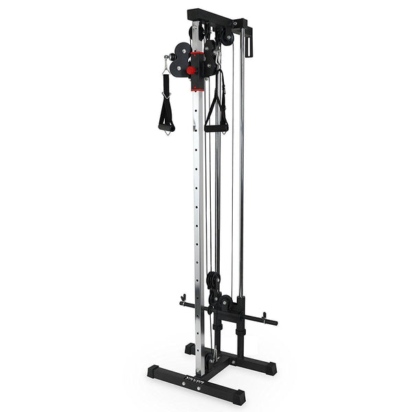 Valor Fitness BD-62 Compact Wall Mount Cable Station Heavy Duty Steel Adjustable