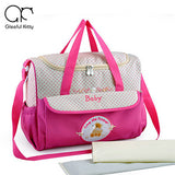 Multi-functional Large Capacity Baby Diaper Bag Travel Organizer Overnight Mommy
